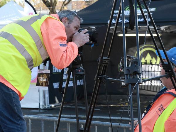 Newspack - Tournage vidéo Marathon du Beaujolais